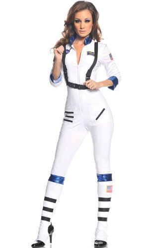 Underwraps Women's Blast Off, White, X-Large - Cute Space Girl Costume