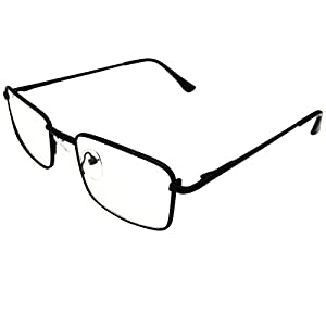 Southern Seas Mens Womens -2.75 Distance Myopia Glasses Small to Medium Black Frame Shortsighted Spectacles