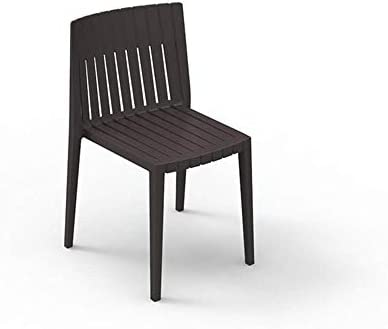 Set 2 Vondom Spritz Chair for Outdoor Bronze