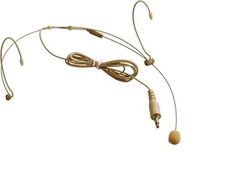 Audio2000'S tm ACC6540H-03 Professional Miniature Condenser Headset Microphone