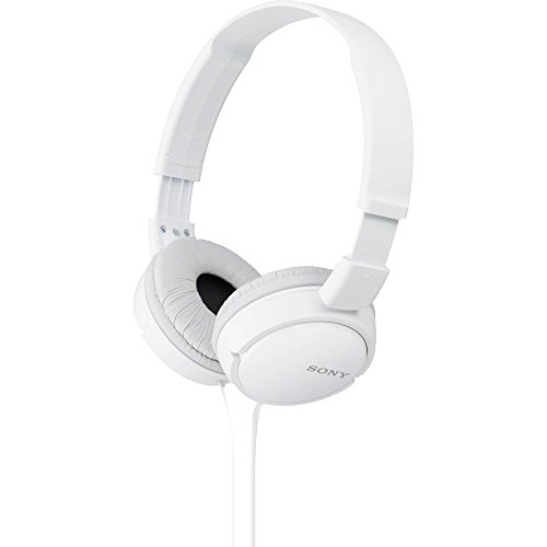 Sony MDR-ZX110/WC(AE) Overhead Headphones - White