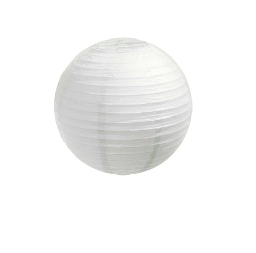 WeGlow International 8″ Paper Lantern – White (3 pieces), Health Care Stuffs