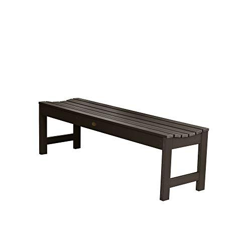 - Highwood AD-BENN1-ACE Lehigh Backless Bench, 5 Feet, Weathered Acorn
