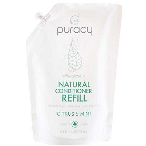 Puracy Natural Conditioner Refill, Silicone-Free, No Harsh Chemicals, All Hair Types, 64 ()