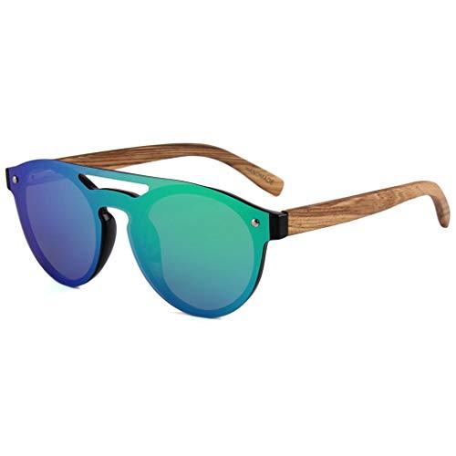 polarizadas Deportivas Unisex sol bambú Azul bambú para Ciclismo con y Color Green de de Correr Lentes Gafas Gafas Protección Colores UV400 Gafas de wgE5Ywq