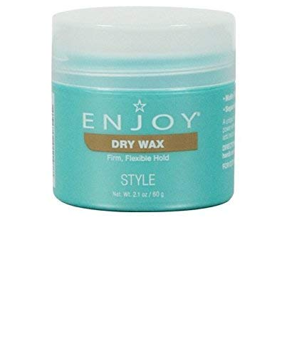 ENJOY Dry Wax (2.1 OZ) - Non-Greasy, Pliable Hair Wax ()