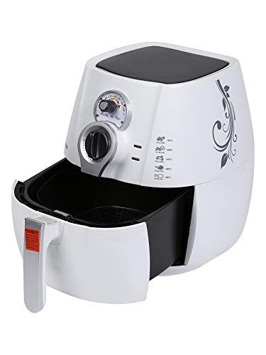 Bright Flame 3.2 Litres Air Fryer, White (Fry, Grill, Bake & Roast)