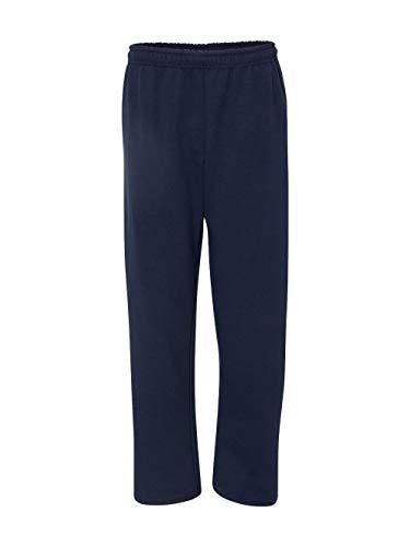 By Gildan Adult Heavy Blend 8 Oz Open-Bottom Sweatpants With