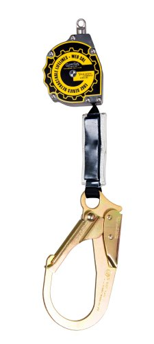 11' Edge Series Web Retractable with steel rebar hook Retractable Web Lanyard
