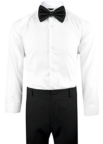 Boys Tuxedo in Black Dresswear Set Size 4T by Black n Bianco (Image #4)