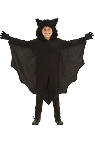 Roman Holiday Costume Ideas (AIKOSHA ROMAN Halloween Party Role-playing Parent-child Bat Costume with Gloves and Connect Wing)