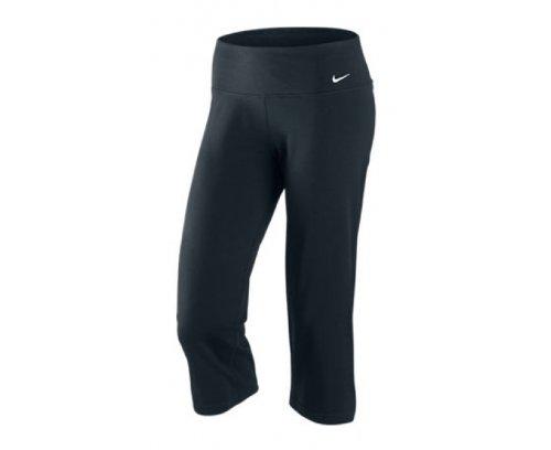 Pantalón Negro Mujer Corto Nike Para 80wYddx