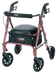 Walker 4 Wheel 8'' Wheel Retail Box - Carex Health Brands A22200