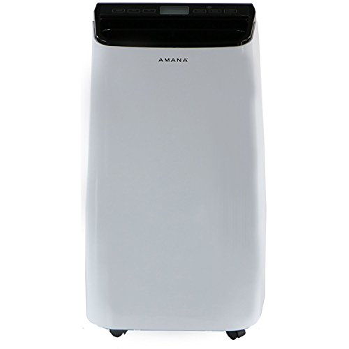 Amana 10,000 Btu Portable Air Conditioner with Remote in White/Black