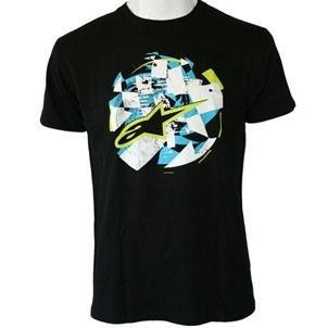 Alpinestars Youth Hilltop T-Shirt , Size: Lg, Distinct Name: Black, Size Segment: Youth, Primary Color: Black, Gender: Boys 31117201310L