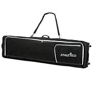 Athletico Conquest Padded Snowboard Bag with Wheels Travel Bag for Single Snowboard and Snowboard Boots