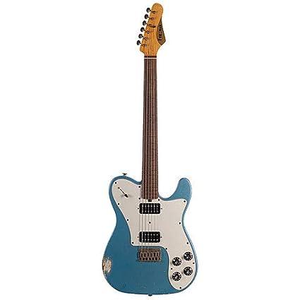 Friedman Vintage T Metallic Blue, HH · Guitarra eléctrica