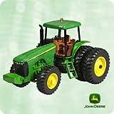2003 Hallmark John Deere Model 8420 Tractor Ornament--Die Cast Metal and Handcrafted