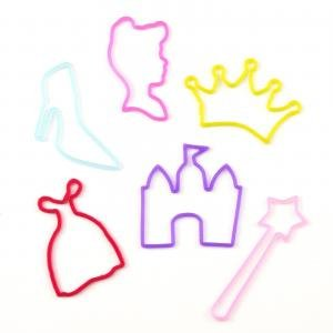 Disney Princess Rubber Bandz Braclets - 12 Pack