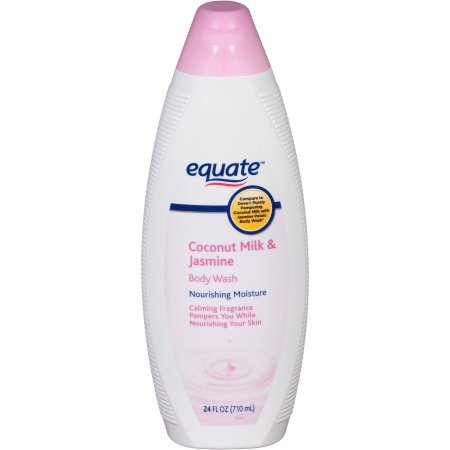 Equate Coconut Milk & Jasmine Body Wash, 24 fl oz (Body Coconut Jasmine Wash)