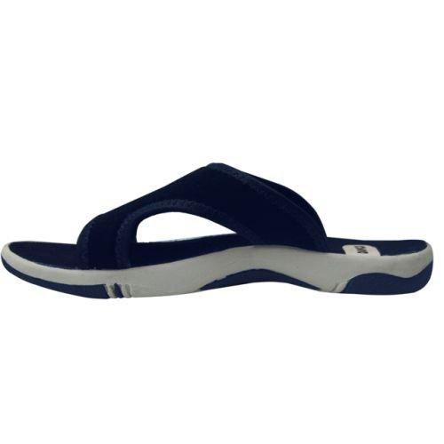 dawgs womens sporty slides navy size 8 amazon ca shoes handbags