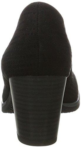 negro mujer Black Tozzi punta 006 Struct 22402 Marco cerrada Tacones con para gpYxxqC