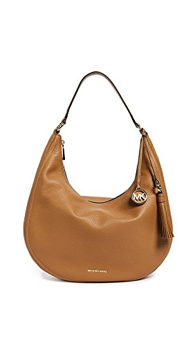 MICHAEL Michael Kors Women's Medium Lydia Hobo Bag, Acorn, One Size by MICHAEL Michael Kors