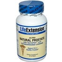 Life Extension - Ultra prostate naturel Avec Aprexflex Et Std Lign, 60 gélules