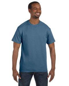 Hanes TAGLESS T-Shirt, 4X-Large, Denim Blue