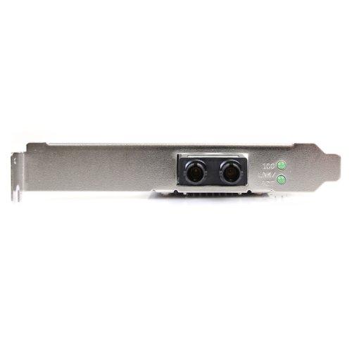 StarTech.com PCI100MMST 100Mbps PCI Multi Mode ST Fiber Ethernet NIC Network Adapter 2km by StarTech (Image #2)