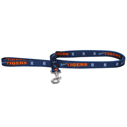 MLB Detroit Tigers Pet Lead, Large, Team Color
