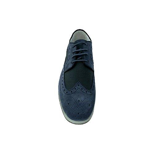 Exton , Baskets pour homme Bleu Jeans 40