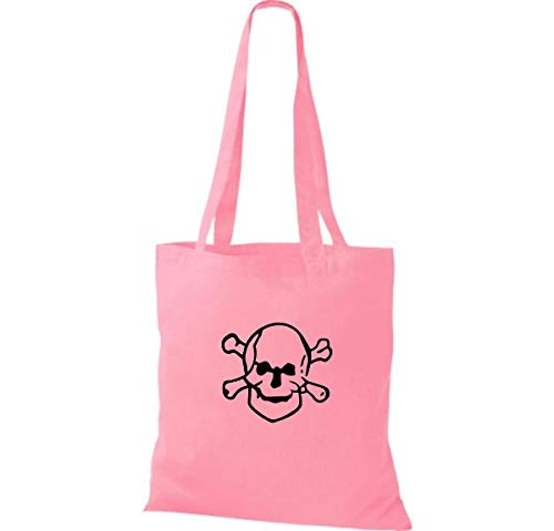 Mujer Tela Shirtinstyle Algodón Para De Classic Bolso Pink aqCTwPX