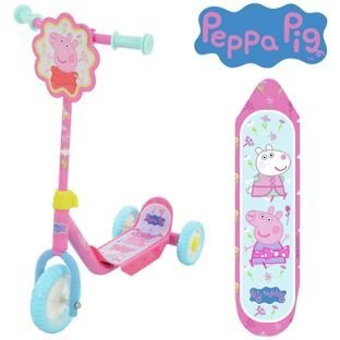 Colorido Peppa Pig My First Tri-Scooter - Rosa.: Amazon.es ...