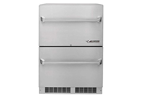 Twin Eagles TERD242-F Outdoor Two Door Refrigerator, 24 Inch (Outdoor Eagles Twin Bar)
