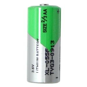 2pk Aa Lithium Battery - Xeno XL-055F ER14335 2/3AA STD 3.6V Lithium Thionyl Chloride Battery 2-Pack