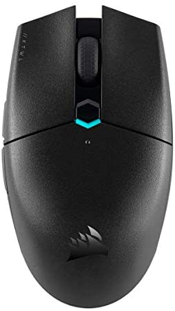 Corsair Katar Pro Wireless, Lightweight FPS/MOBA Gaming Mouse with Slipstream Technology, Compact Symmetric Shape, 10,000 DPI - Black