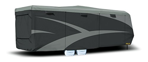 - ADCO 52273 Designer Series SFS Aqua Shed Toy Hauler RV Cover - 24'1