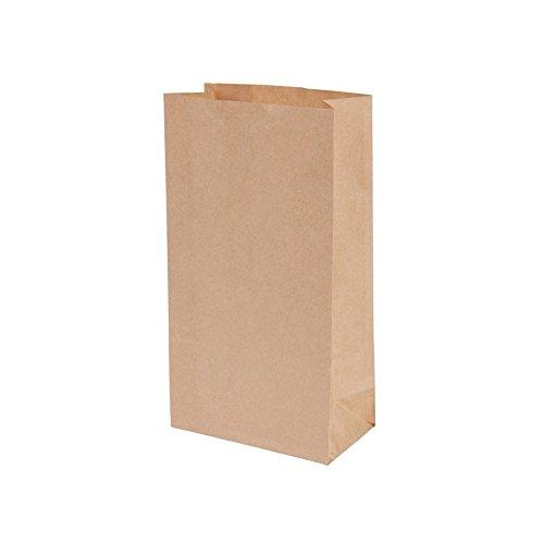 BIOZOYG Bolsas pequeñas Papel Kraft I Papel marrón orgánico ...