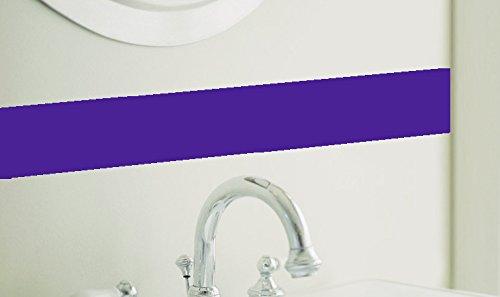 - Borders Unlimited Simple Stripes, Royal Purple