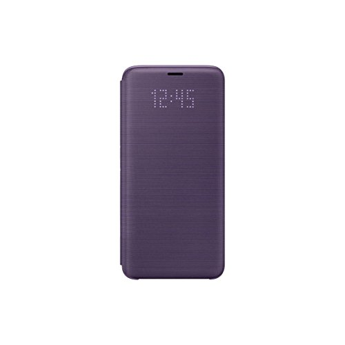 Samsung Official OEM Galaxy S9 LED View Wallet Cover (Violet)