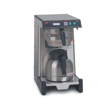 Airpot Coffee Brewer, Low Profile w/ 3.9-gal in 1-hr & LED Read Out (Low Profile Airpot)