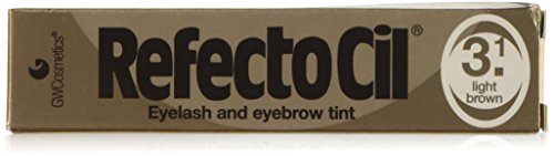 RefectoCil Cream Hair Dye (LIGHT BROWN) .5oz Hair Dye Eyebrows