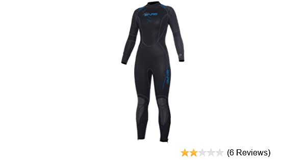 8bb2659f7c Amazon.com   Bare 5mm Womens Sport Full Wetsuit for Scuba Diving and  Snorkeling   Sports   Outdoors