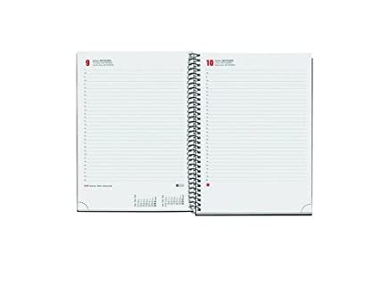 Amazon.com : Miquel Rius 937948 - Notebook Day/Page 15.5x21 ...