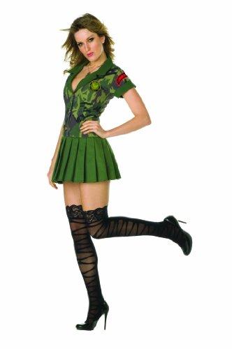 RG Costumes Camo Cutie, Green Camouflage, Small (Camo Cutie Costumes)