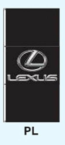 Dealer Lexus (Branded Auto Dealer 3.5x7.5 Drape Banner Flag Signs (Style: PL- Lexus))