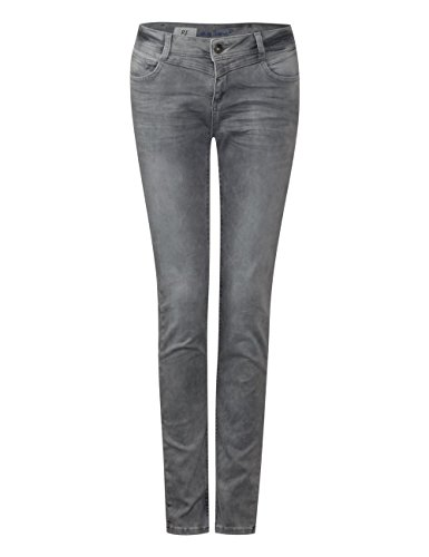 Grau 11474 Street Bleach grey Donna Slim Jeans Random One 8Iqrw7v8