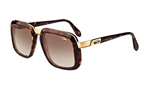 Cazal 616S Sunglasses 007SG Amber Brown/Brown Gradient