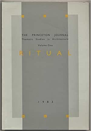 Book Princeton Journal: Thematic Studies in Architecture